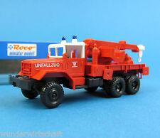 Roco H0 1327 GMC Kran-Wagen 10 Unfallzug Feuerwehr Dietzenbach HO 1:87 tow truck