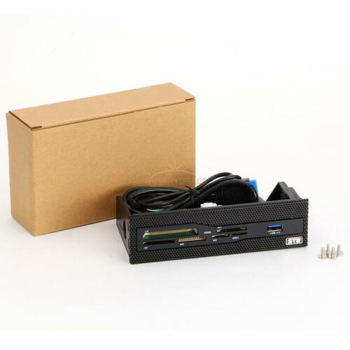 USB3.0 Power PC Case Front CD Driver Panel Multi Slot Internal Card Reader