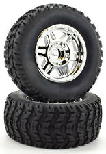 Apex RC Products 1/10 Short Course Wheels + Off-Road Tires - Traxxas Slash #6205