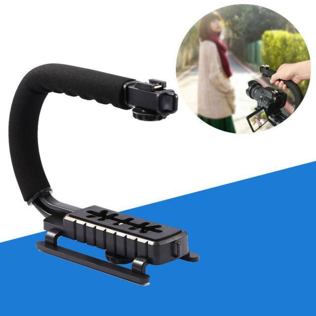Pro Video Stabilizing Handle Grip for Konica KD-200 Zoom Vertical Shoe Mount Stabilizer Handle