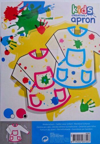 Kinder Mahlschürze Werkschürze Kinderschürze mit Klettverschlüss Bastelschürze