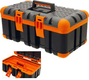 Werkzeugkasten Kunststoff Werkzeugbox Werkzeugkoffer leer Werkzeugkiste groß