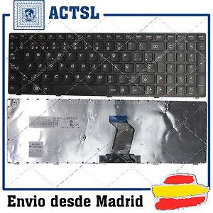 TECLADO-ESPANOL-para-PORTATIL-LENOVO-IdeaPad-B570-B570A-B570G-B570E-Black-Frame