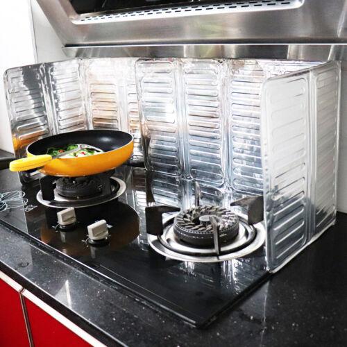 Huile en Alu Splash protéger Cuisine Cuisson huile de friture éclaboussures Screen Cover