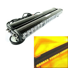 12V 2*18 LED Light Bar Roof Magnetic Emergency Hazard Warning Flash Strobe Amber