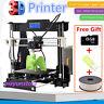 Anet A8 FDM 3D Printer Precision Reprap Prusa i3 DIY & LCD&1 Filament&8GB CARD V