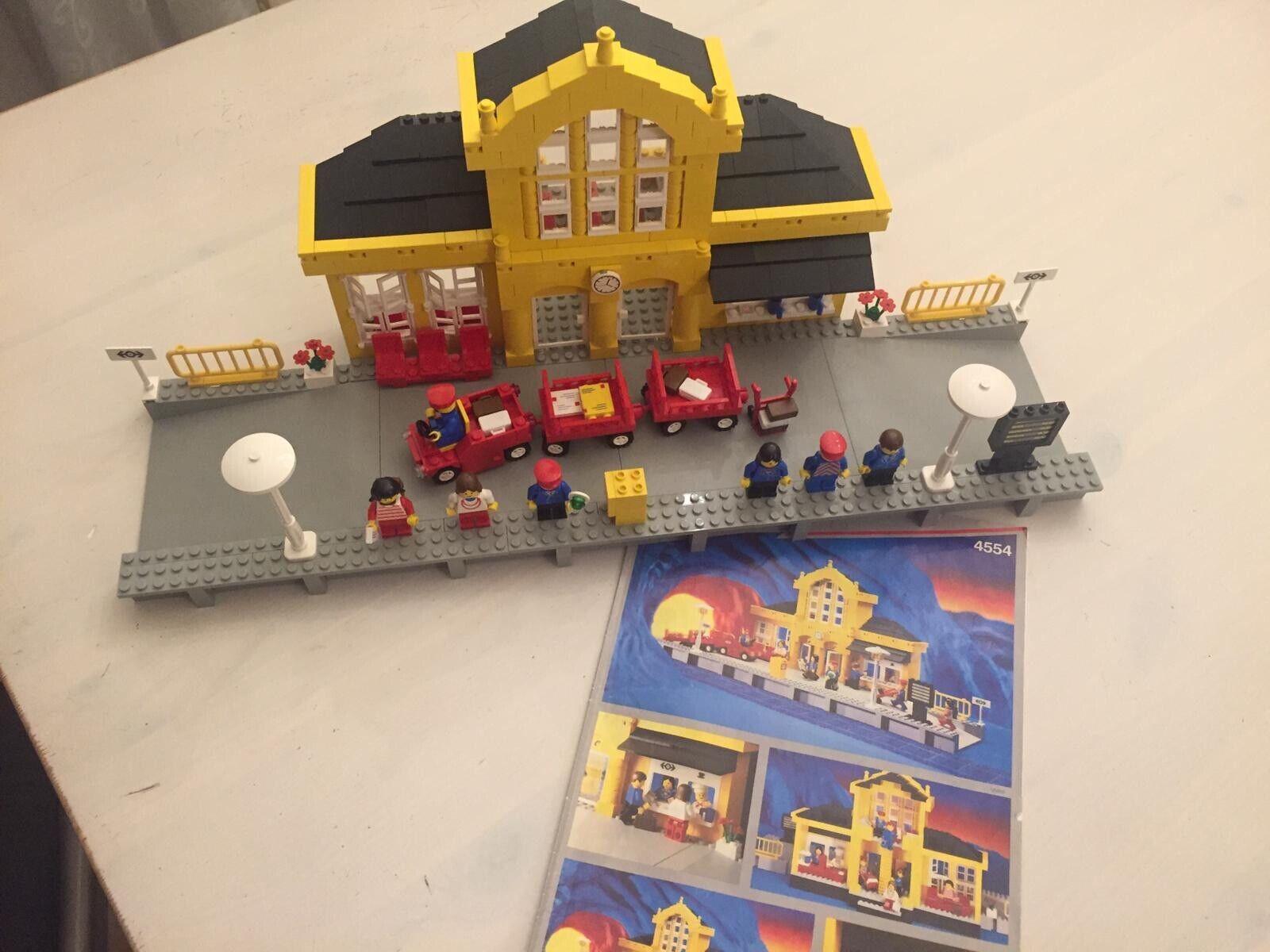 Lego Eisenbahn 4554 Metro Station