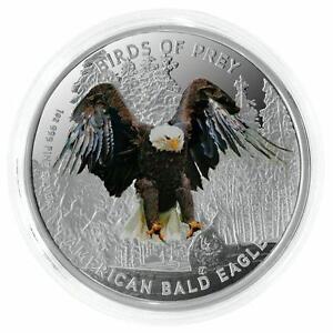 2013 Niue Birds of Prey Osprey 1 oz  Silver Proof Coin