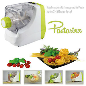 Pastarixx-Nudelmaschine-elektrisch-Pastamaschine-250W-Nudelvollautomat-Pasta