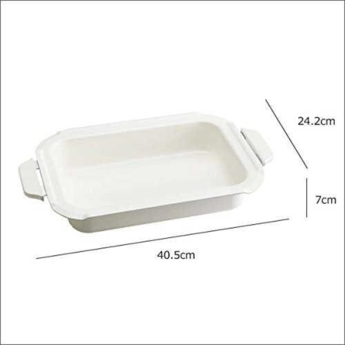 BRUNO Complete Option Set for BOE021 Compact Hotplate White Japan with Tracking
