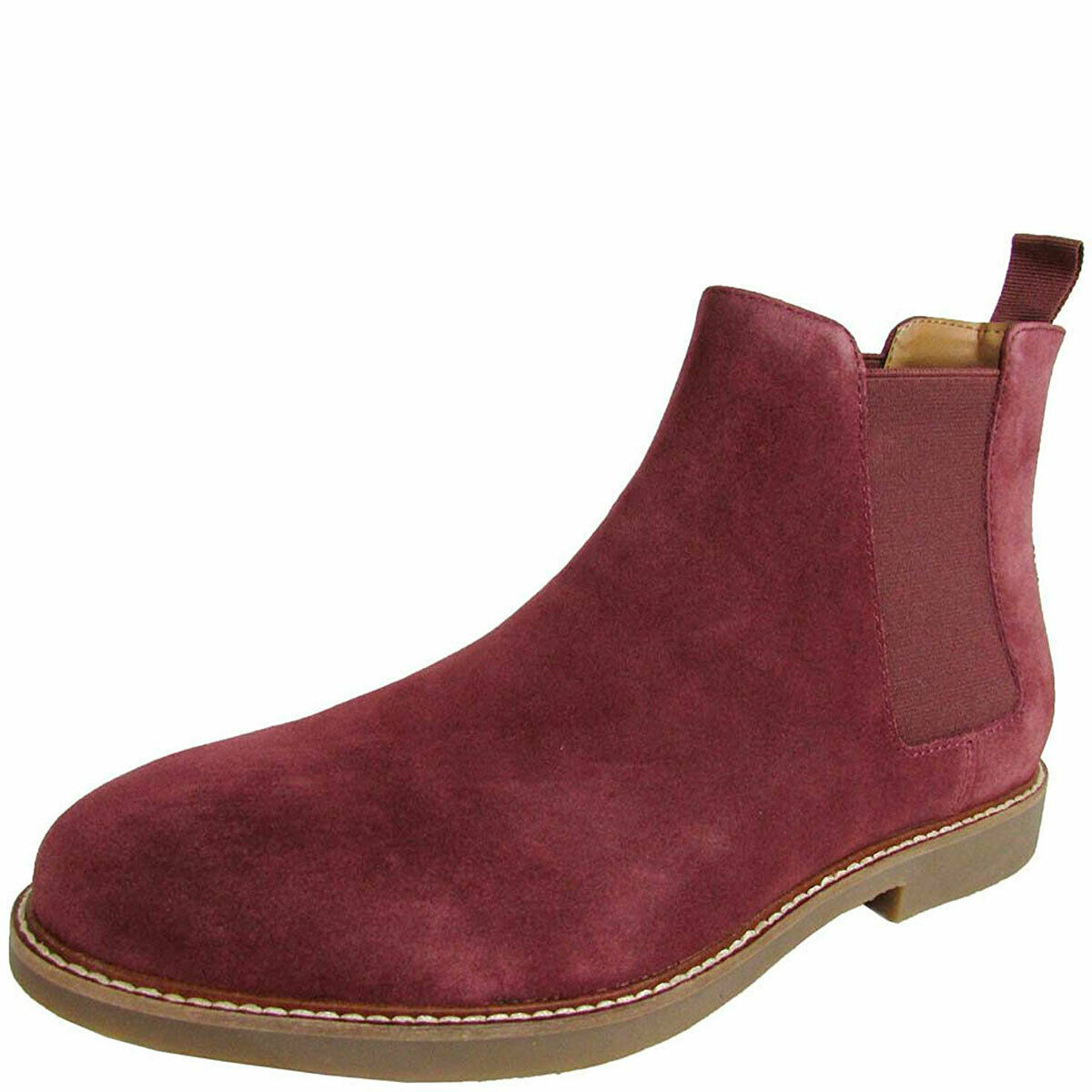 Steve Madden Mens Hyghline Suede Leather Chelsea Boots MSRP 100 New