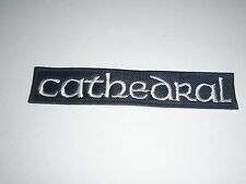 CATHEDRAL DOOM METAL EMBROIDERED PATCH