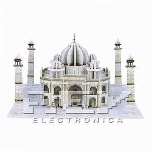 Puzzle-3D-TAJ-MAHAL-Rompecabezas-Coleccion-Arquitecturas-Desde-ESPANA-j210