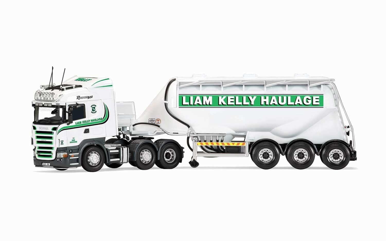 CC13767 Corgi Scania R Feldbinder Tanker Liam Kelly Spedition Modelauto Hgv
