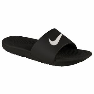 53c1dc070 Nike 832646 010 KAWA SLIDE Men s Sandal Black All Sizes