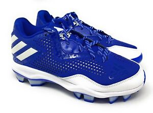 976ec2ed5a3 Adidas PowerAlley 4 W TPU Blue Softball Cleats (Q16601) Women s ...