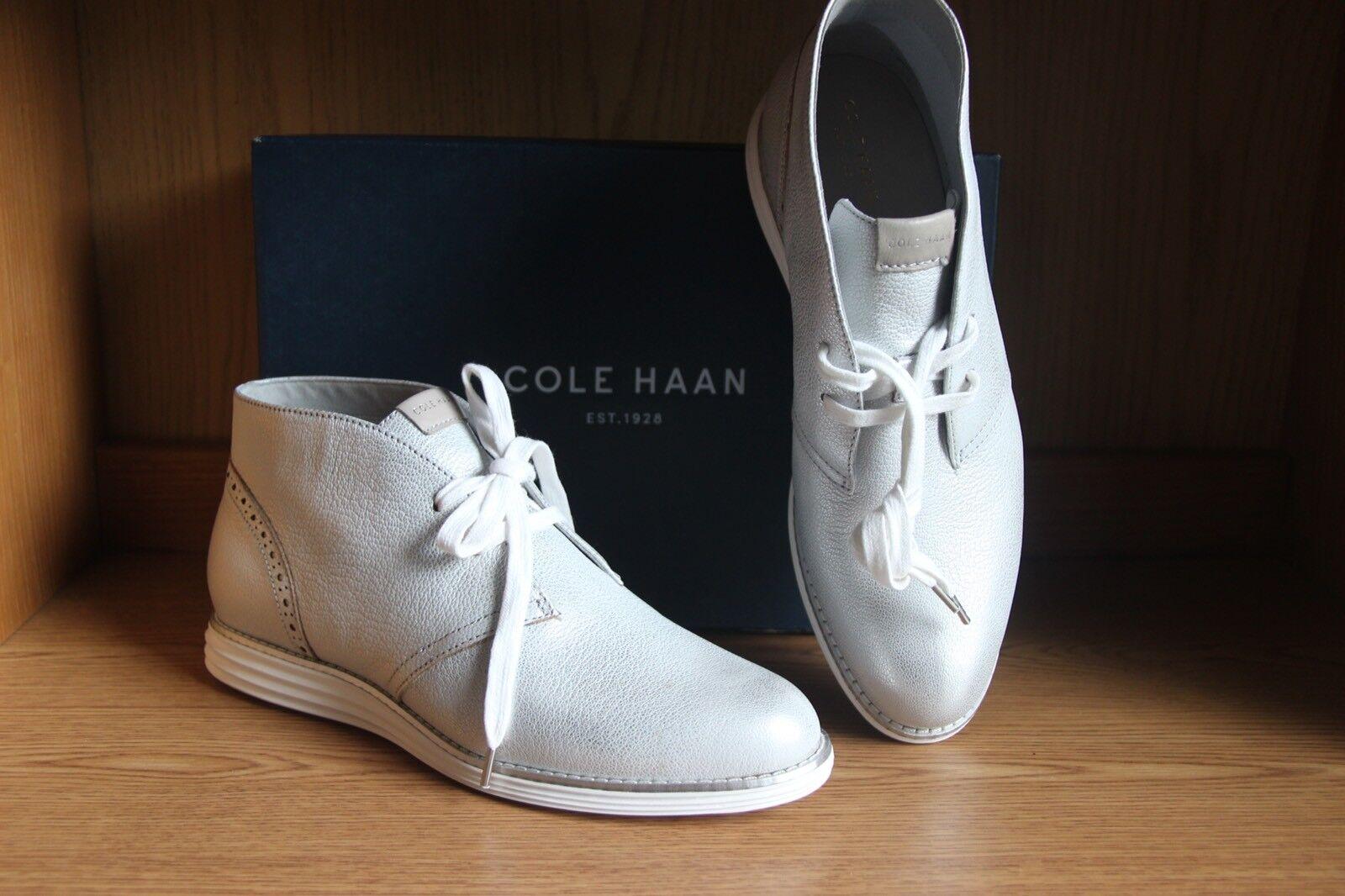 Cole Haan Original Grand Optic blanco Chukka bota mujer Talla 9.5 W03197