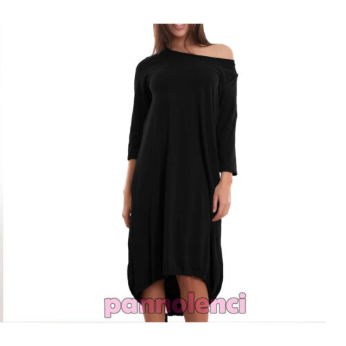 Women/'s Dress Long Suit Wide Elastic Sleeves 3//4 Casual Cotton New Cj-2018