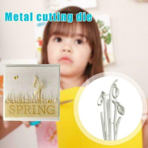 1X Leaves Metal Cutting Dies Stencil DIY Scrapbooking Paper Card Album U0O0