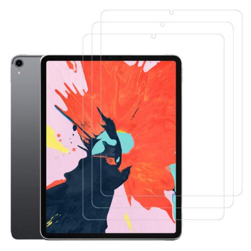 3x Screen Protector Anti-Fingerprint//HD Film for iPad Pro 12.9 11 5 6 Air 9.7