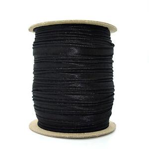 10 Mm Haute Qualité Noir Bordure Garnitures Piping Ribbon Trim Boiteux Couture K332-afficher Le Titre D'origine