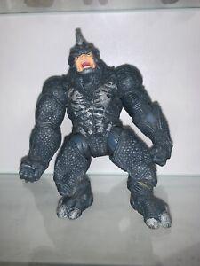 Marvel-Universe-Spider-Man-Power-Charge-Rhino-hasbro-4-5-034-figure-toy-2009