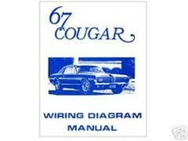1967 Mercury Cougar Wiring Diagram Manual