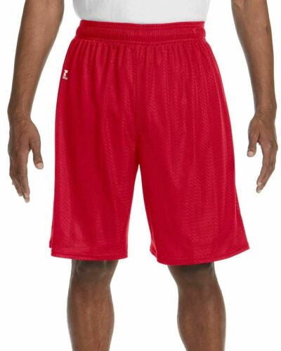 """Russell Athletic Nylon Tricot Mesh Short 9/"""" Inseam L-3XL NEW 659AFM"""