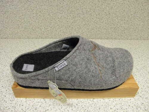 """/""""Dahoam is Dahoam/"""" Gratuit Premium-Chaussettes gris t36 TOFEE ® feutrine"""