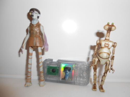 Star Wars 1998 EP1 Modern Style Ody Mandrell Otoga 222 Pit Droid ~ Commtech Chip