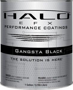 Halo Efx Gangsta Black Top Coat Gallon Liquid Wrap Vinyl