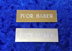 Personalised-Engraved-Plate-Label-Wedding-Seating-Office-Door-Gold-or-Silver