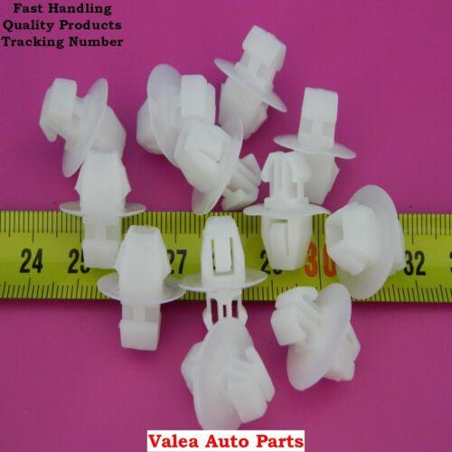 10 Pieces Side Moulding Clip White For Suzuki Toyota Lexus OE# 90467-11063