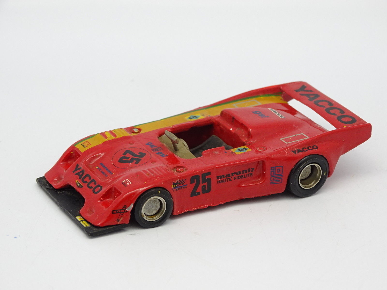 Mini Racing Set Aufgebaut Sb 1 43 - Chevron B36 Roc Yacco Nr. 25