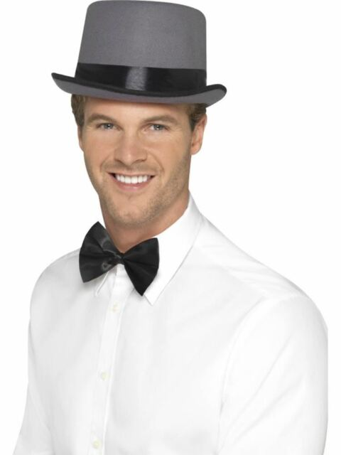 Top Hat, Halloween Fancy Dress, GREY #CA
