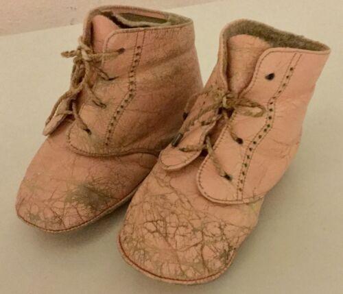 Vintage Antique 1947 Pink Baby Girl Toddler Kids L