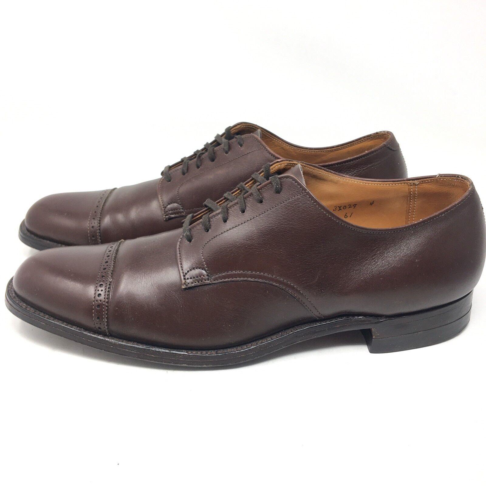 Zapatos De Vestir Alden Puntera Borgoña Para Hombre Truflare últimos 12.5 3A Extra Estrecha