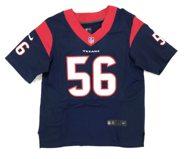 texans on field jersey