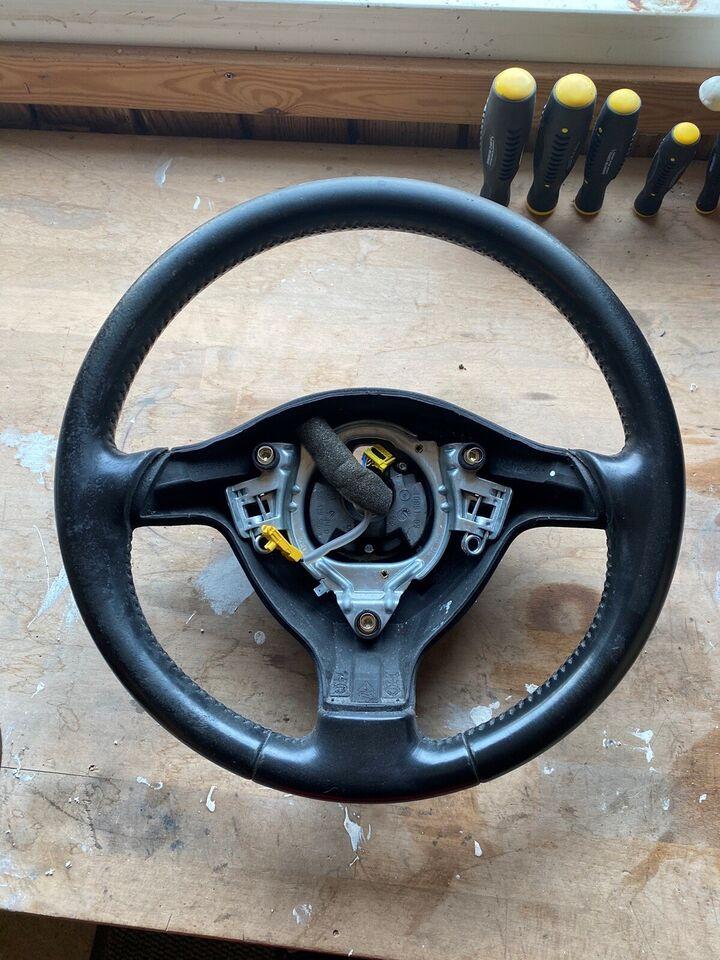 Andre reservedele, Rat uden airbag, VW Passat 3bg