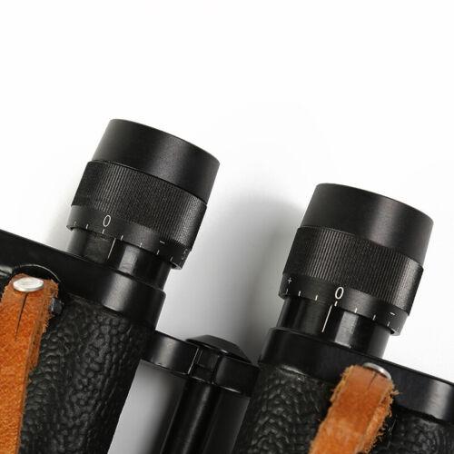 8X30mm Waterproof Hunting Binoculars w// Reticle Leather Pouch BAK4 Porro prism