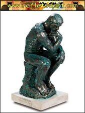 AUGUSTE RODIN STATUE SCULPTURE FIGURINE THE THINKER LE PENSEUR PARIS FRANCE ART