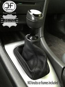 Black Stitch Fits Saab 93 9-3 Ss 2003+ Gear Gaiter Noir En Cuir Véritable-afficher Le Titre D'origine Dhgby7t3-07224812-375687820