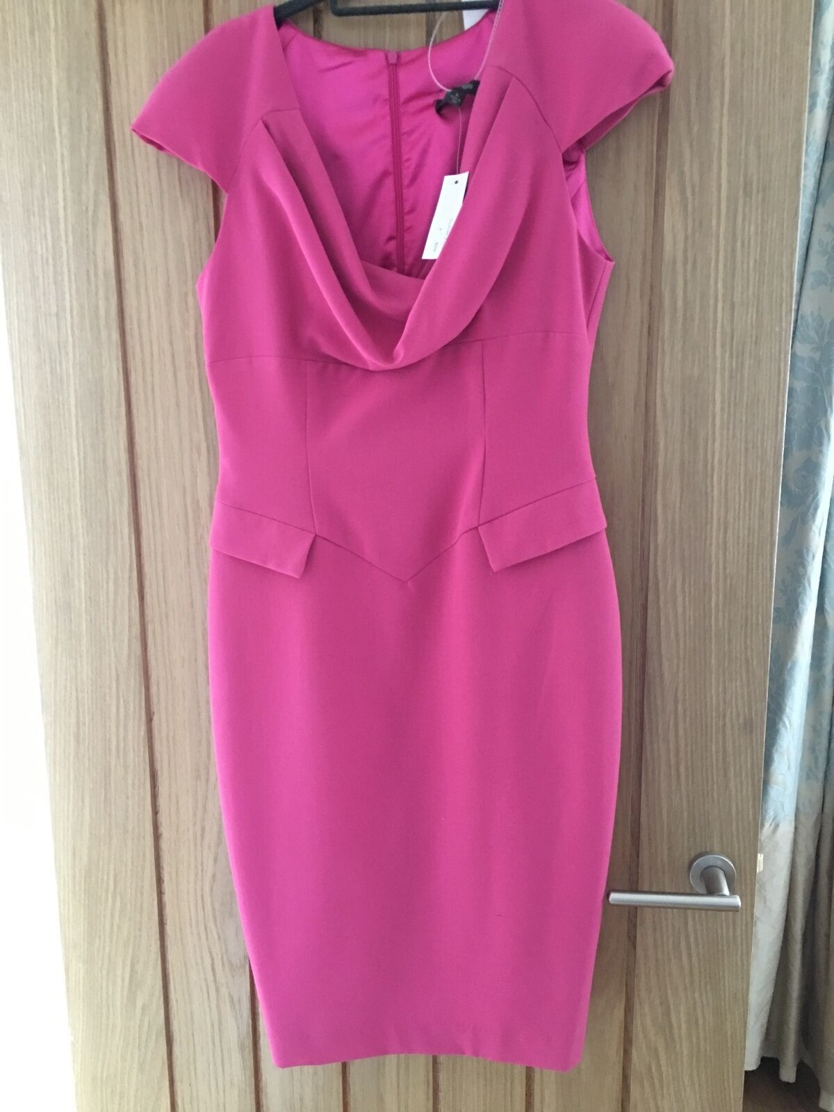Single -  dress size 10 but would fit a 12 Pink