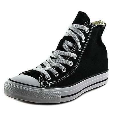 Converse Chuck Taylor All Star Hi Women  Round Toe Canvas Black Sneakers