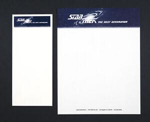 "Vintage - Unused - Original Gene Roddenberry ""Star Trek"" Stationery Set"