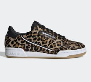 Details about Adidas Continental 80 # F33994 Leopard Men SZ 4 - 14