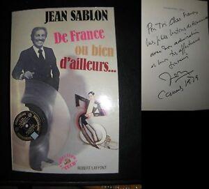 DE-FRANCE-OU-BIEN-D-AILLEURS-JEAN-SABLON-envoi-de-Sablon
