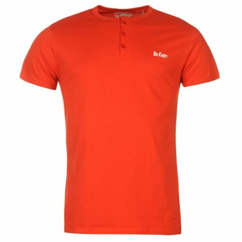 SALE !! Mens Designer Lee Cooper Crew Casual T-Shirt Size L XL 2XL XXL Big Size