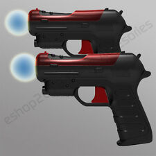 2 Gun Pistol Controller for Playstation 3 PS3 Move Game