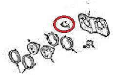 1969 FIREBIRD HEADLIGHT PANEL MOUNTING BRACKETS WITH HARDWARE USED PAIR
